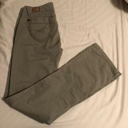 Unionbay khaki cargo pants bootcut stretch juniors size 5