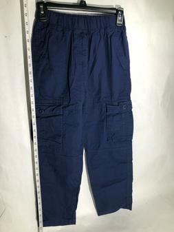 OCHENTA Kids Cotton Military Cargo Pants, Multi Pockets Casu
