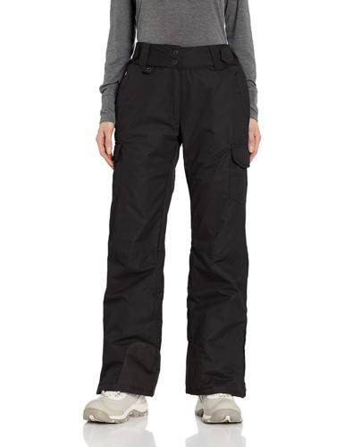 Arctix 1830-00-M Women's Snowsport Cargo Pants, Medium, Blac