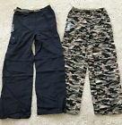 2 Gander Mountain Boys Convertible Cargo Pants Shorts Blue &