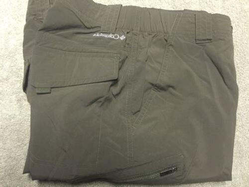 Columbia 30X34 Cargo Pants Zip Shorts