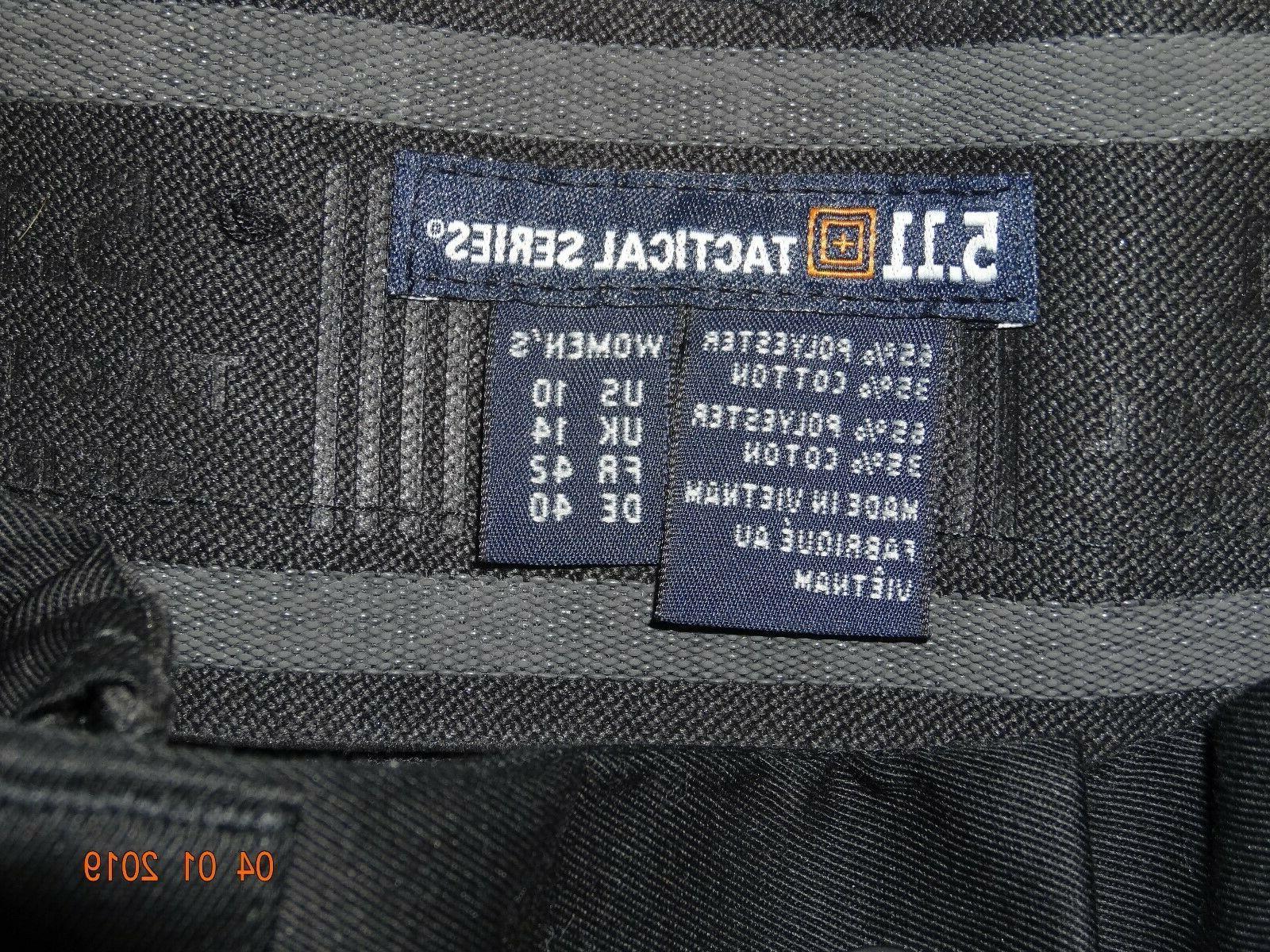 5.11 Tactical Women Pants Sz Black