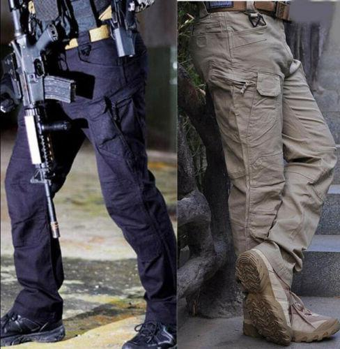 Tactical Pants Military Army Cargo Security Combat Hiking Hu
