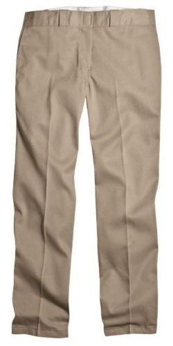Dickies 874KH 34 31 Mens Plain Front Work Pant Khaki 34 - 31