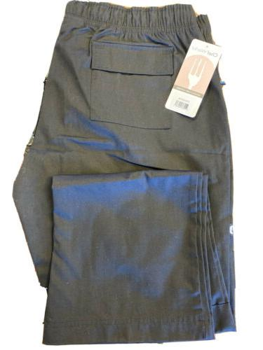 Chef Works - CPWO-BLK-2XL - Women's Black Cargo Chef Pants