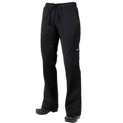 Chef Works - CPWO-BLK-3XL - Women's Black Cargo Chef Pants