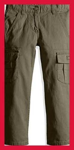Authentics Boys' Classic Pant OLIVE BACK TO SCHOOL