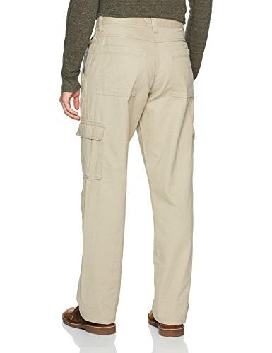 Wrangler Men's Authentics Cargo Pant, New Khaki,