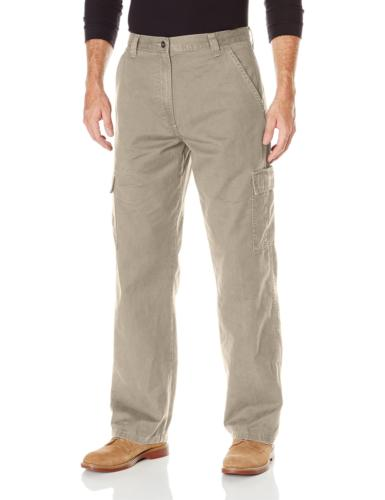 Wrangler Authentics Men's Authentics Classic Cargo Twill Pan