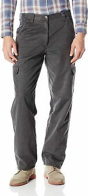 Wrangler Authentics Men's Fleece Lined Cargo Pant