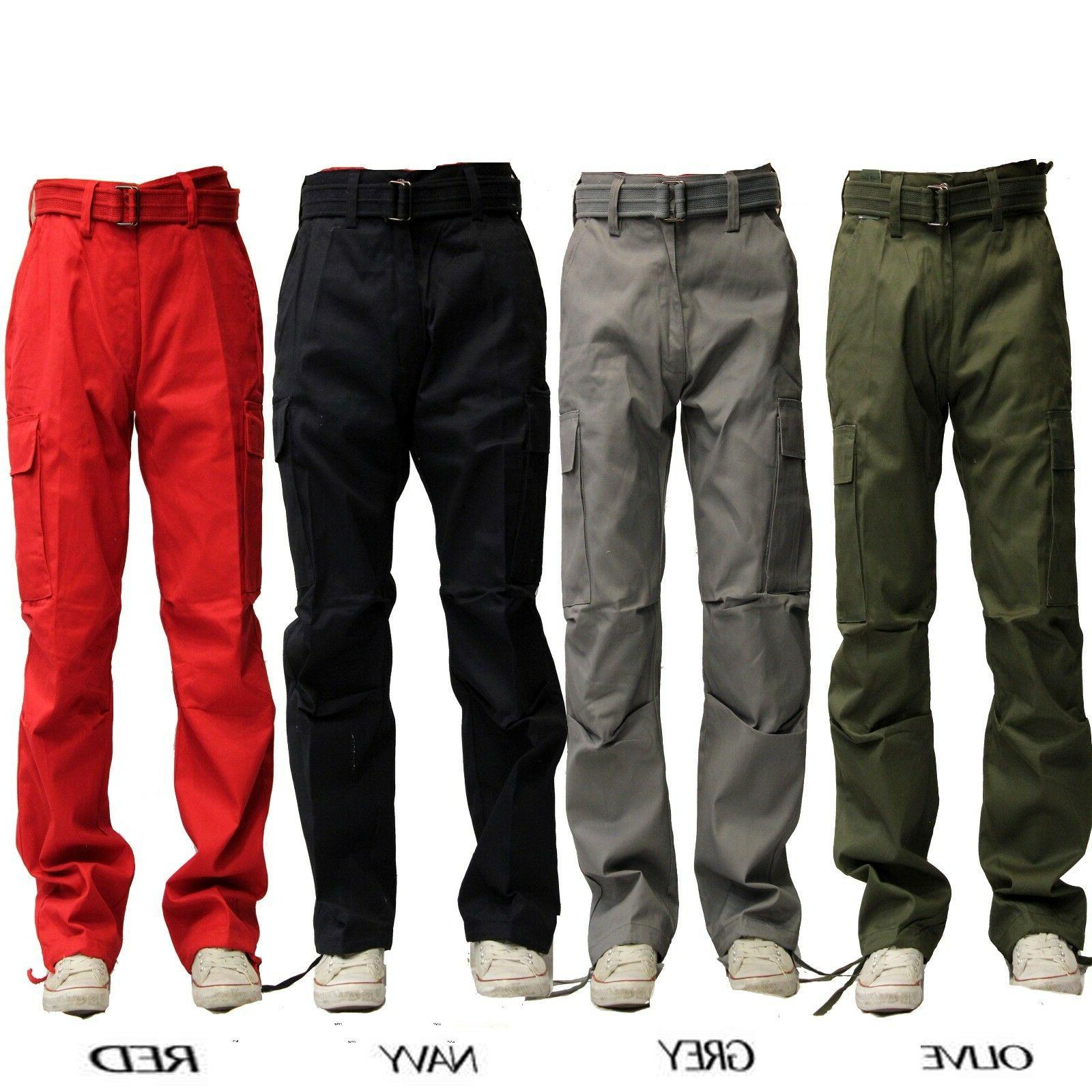 BIG AND TALL MEN MILITARY ARMY CARGO PANT PANTS