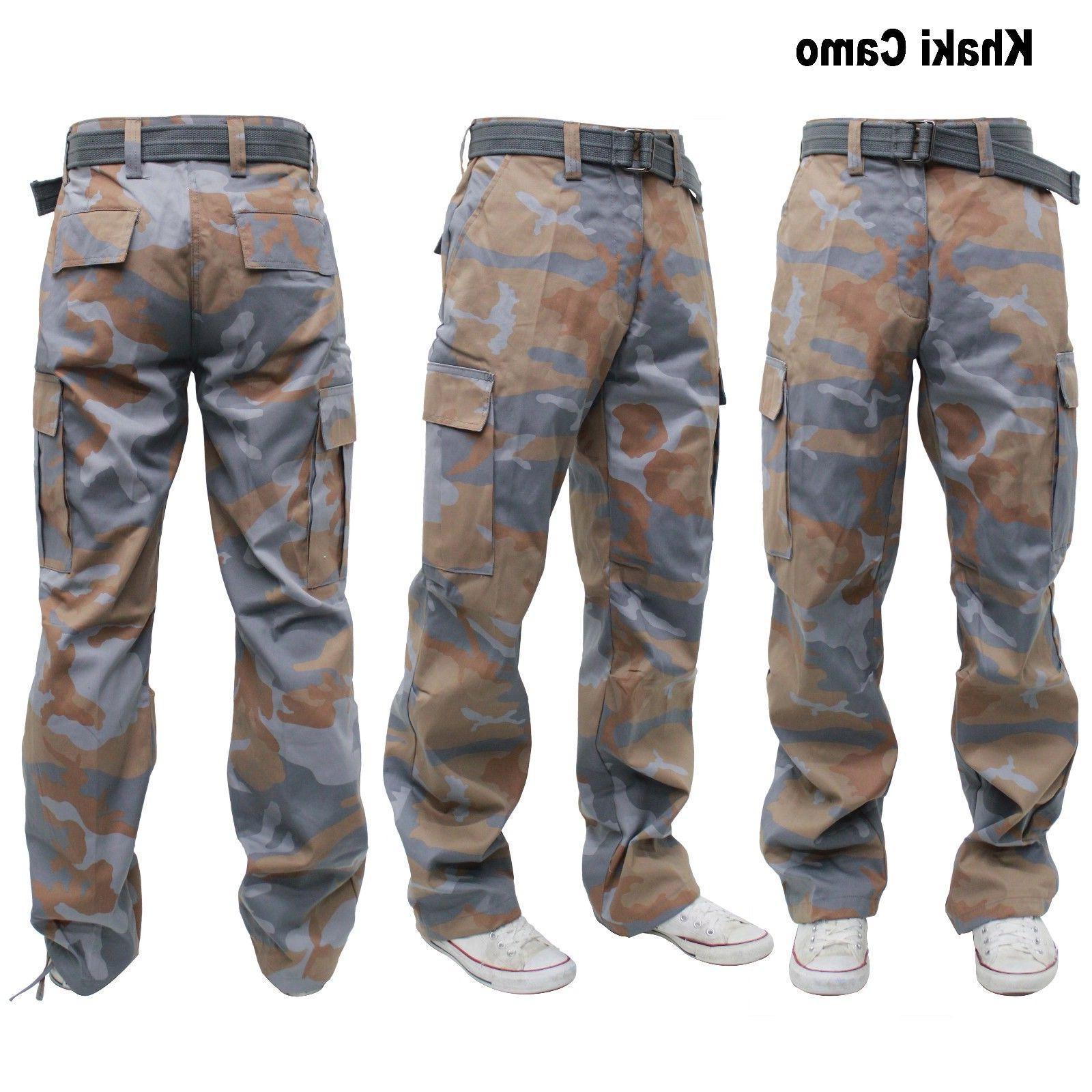 MEN ARMY CAMO CARGO