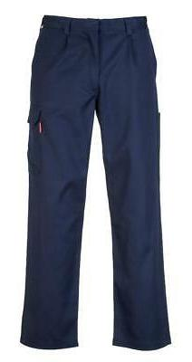 Portwest Bizweld FR Cargo Pants Navy Blue BZ31 Case of 5