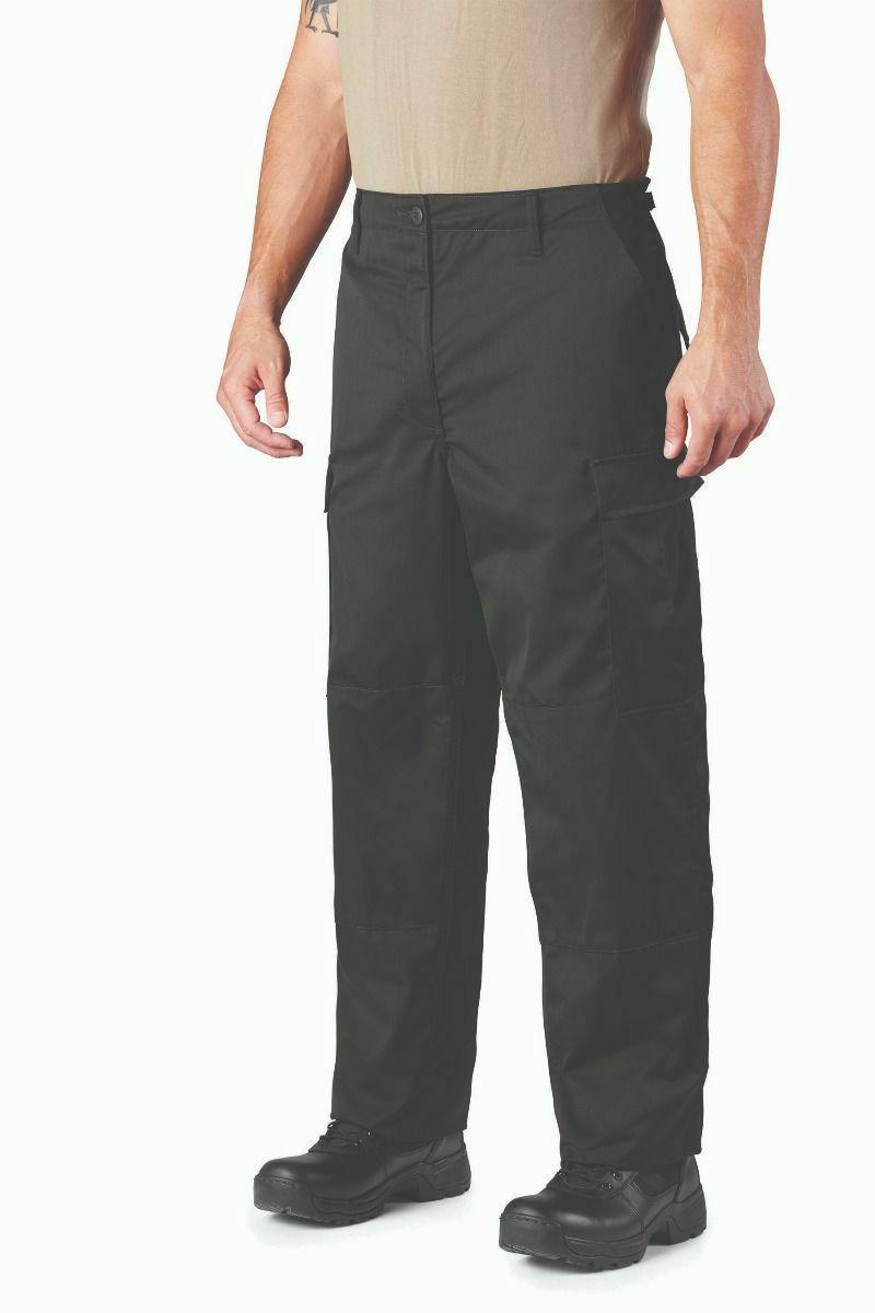 black bdu cargo pants battle dress uniform