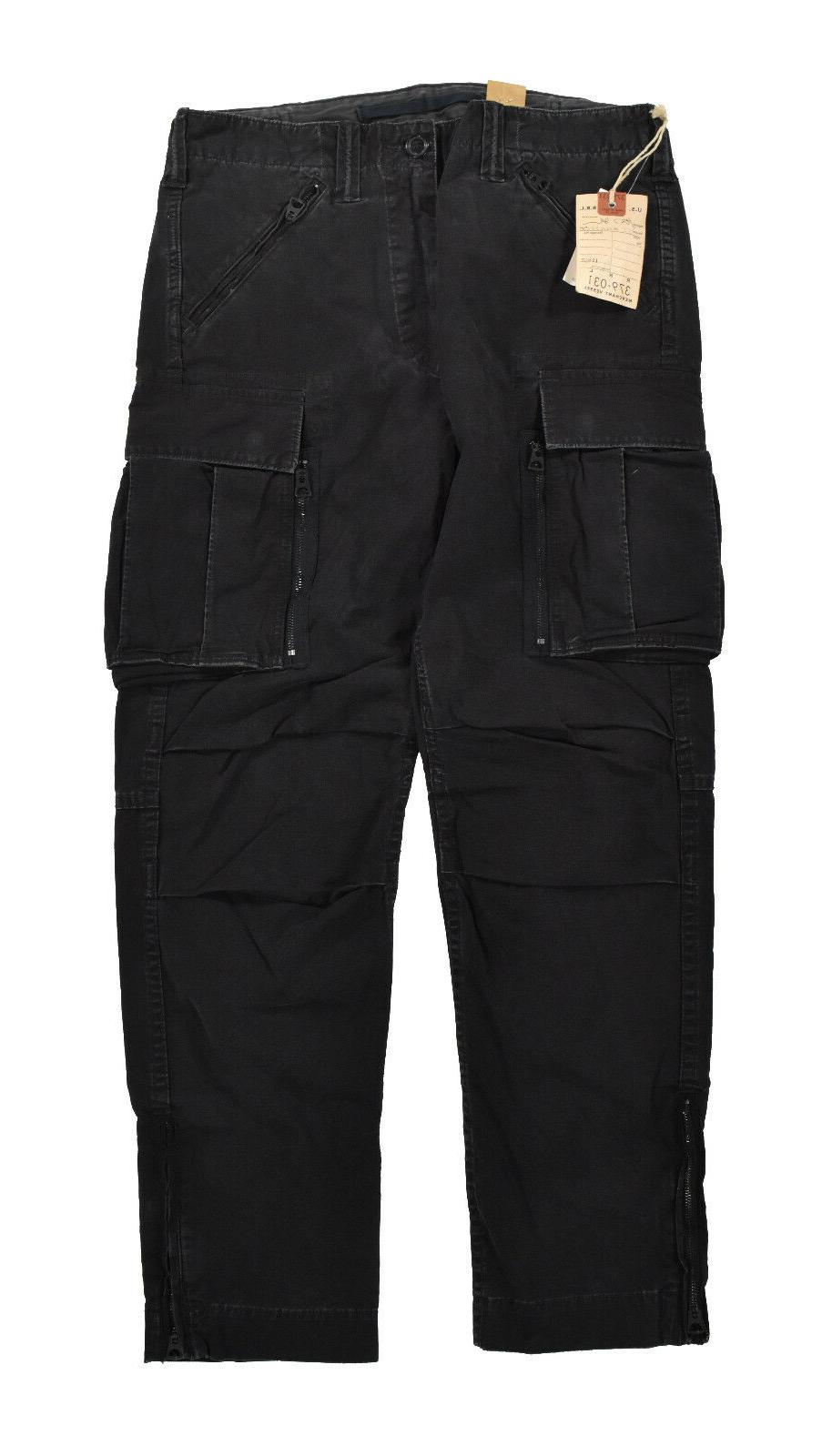 black heavy cotton u s military cargo