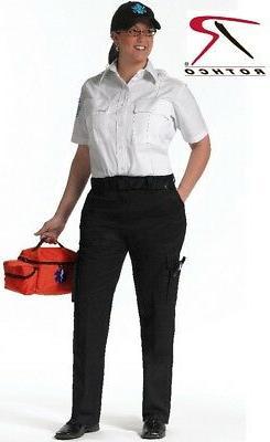 Black Women's 9 Pocket Tactical EMS Apparel EMS EMT Medic Un