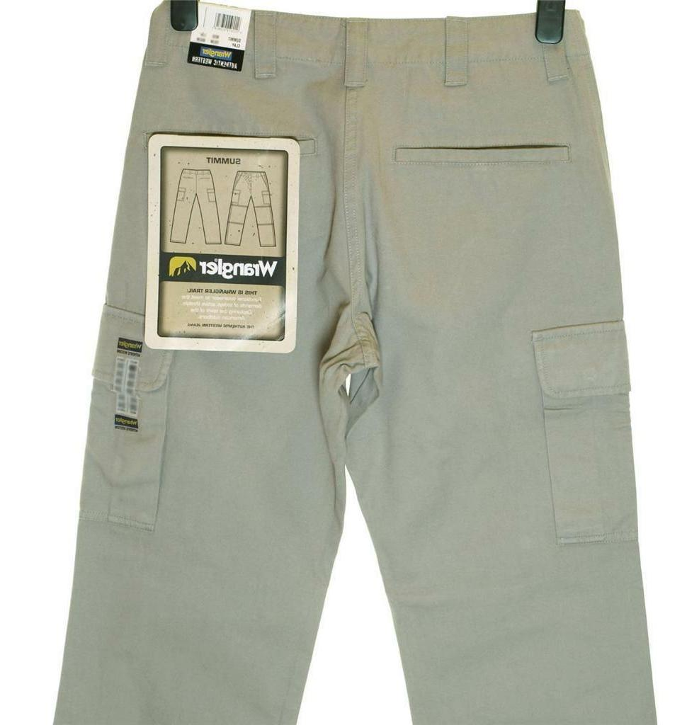 Bnwt Authentic Wrangler Summit Cargo Comfort