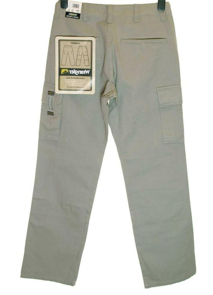 bnwt authentic mens summit cargo combat jeans