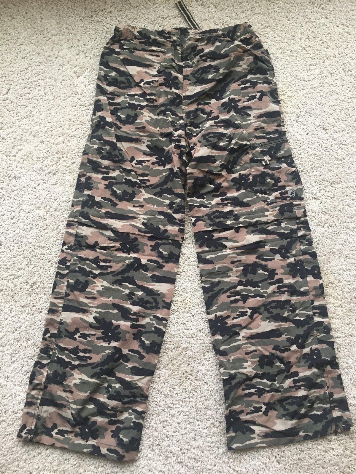 Gander Mountain Boys Convertible Cargo Pants Shorts Camoufla