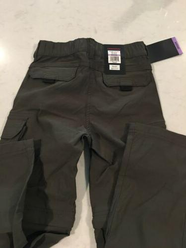 UNIONBAY Convertible Shorts Dark 6 NEW!