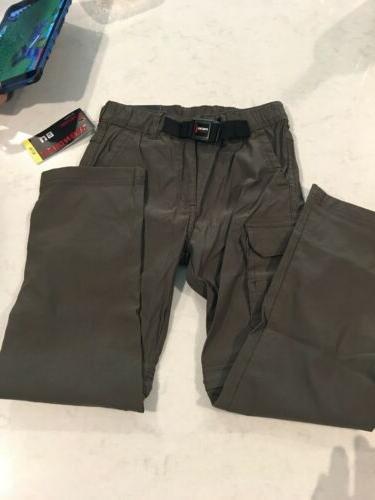 UNIONBAY Boys Convertible Pants Shorts Dark Reptile Army Car