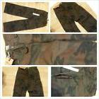 Brown Camoflauge Cargo Pants Adult Army style Cargo Pants bo