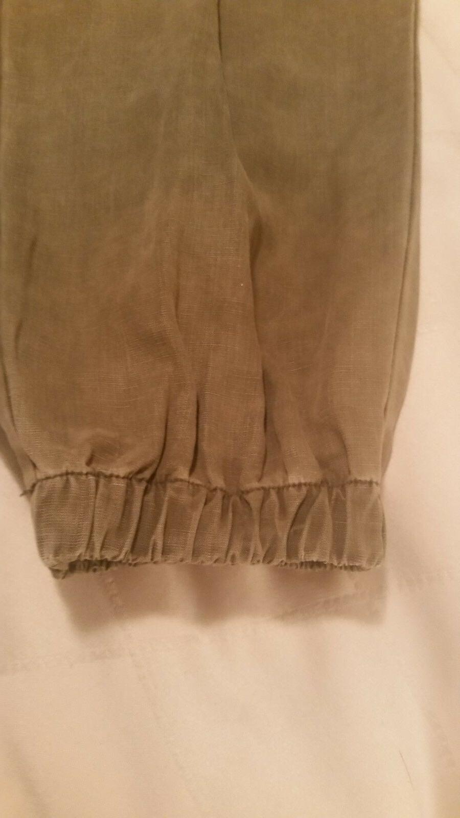 Zara cargo pants waist and size