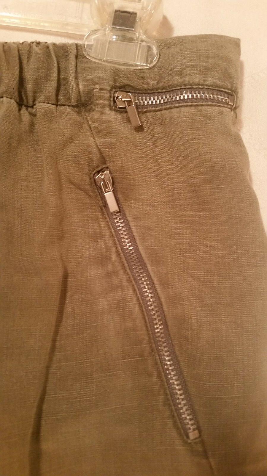 Zara cargo tie string waist elastic size