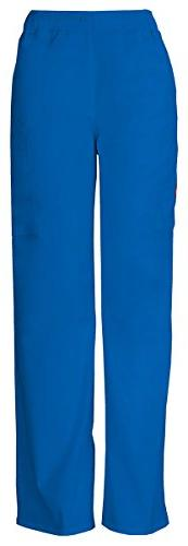 Dickies Men's Button Closure Zip Fly Pull-On Pant_Royal_Smal