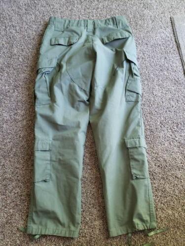 cargo 100 percent cotton tactical combat green