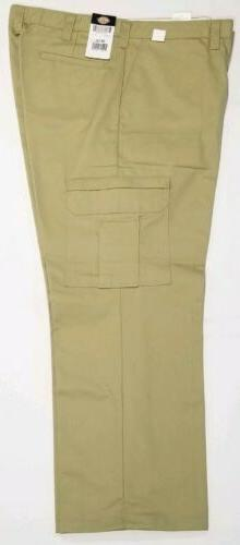 Dickies Men's Cargo Pants, Relaxed Fit 2112372KH 38X34 *See