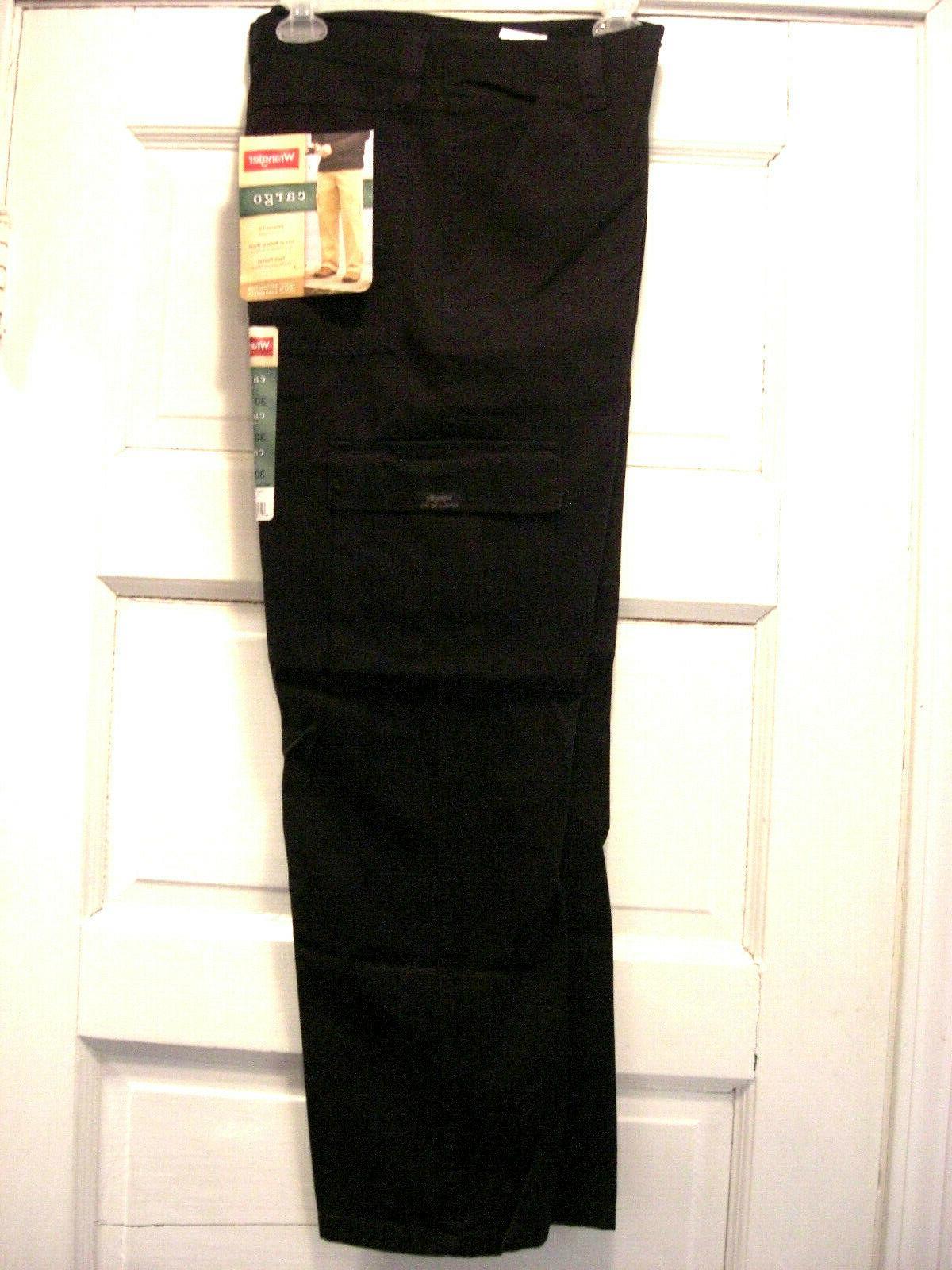 Wrangler Pants Fit Waist Tech Cotton