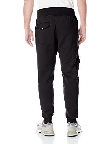PUMA Pants, Black, Large