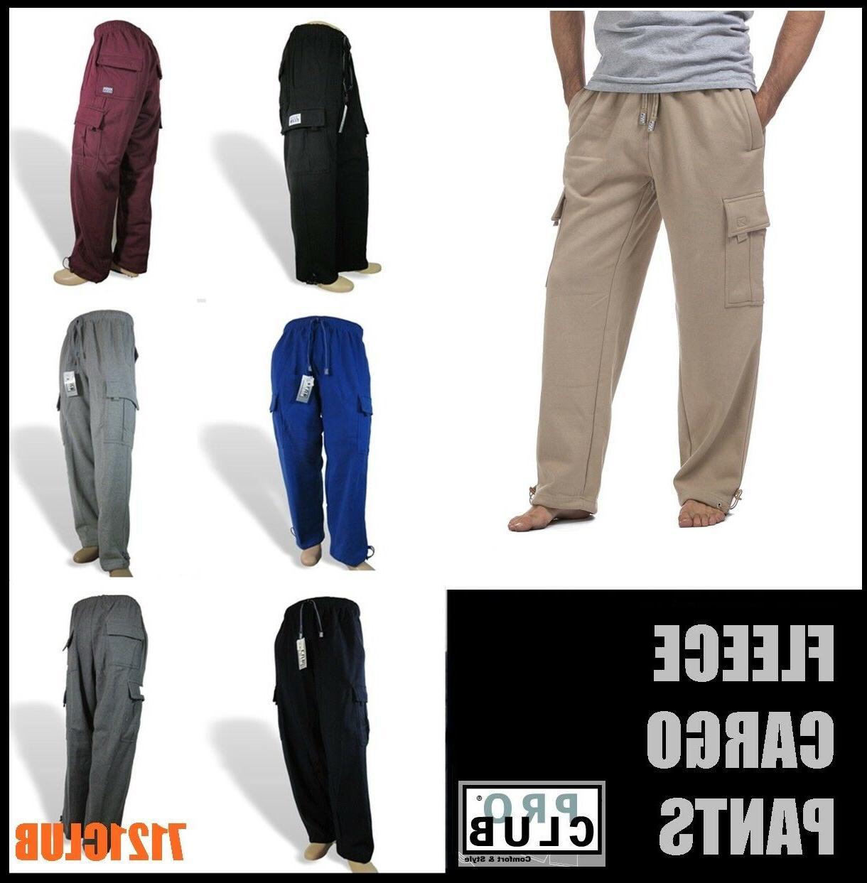 cargo sweat pants men s heavyweight fleece