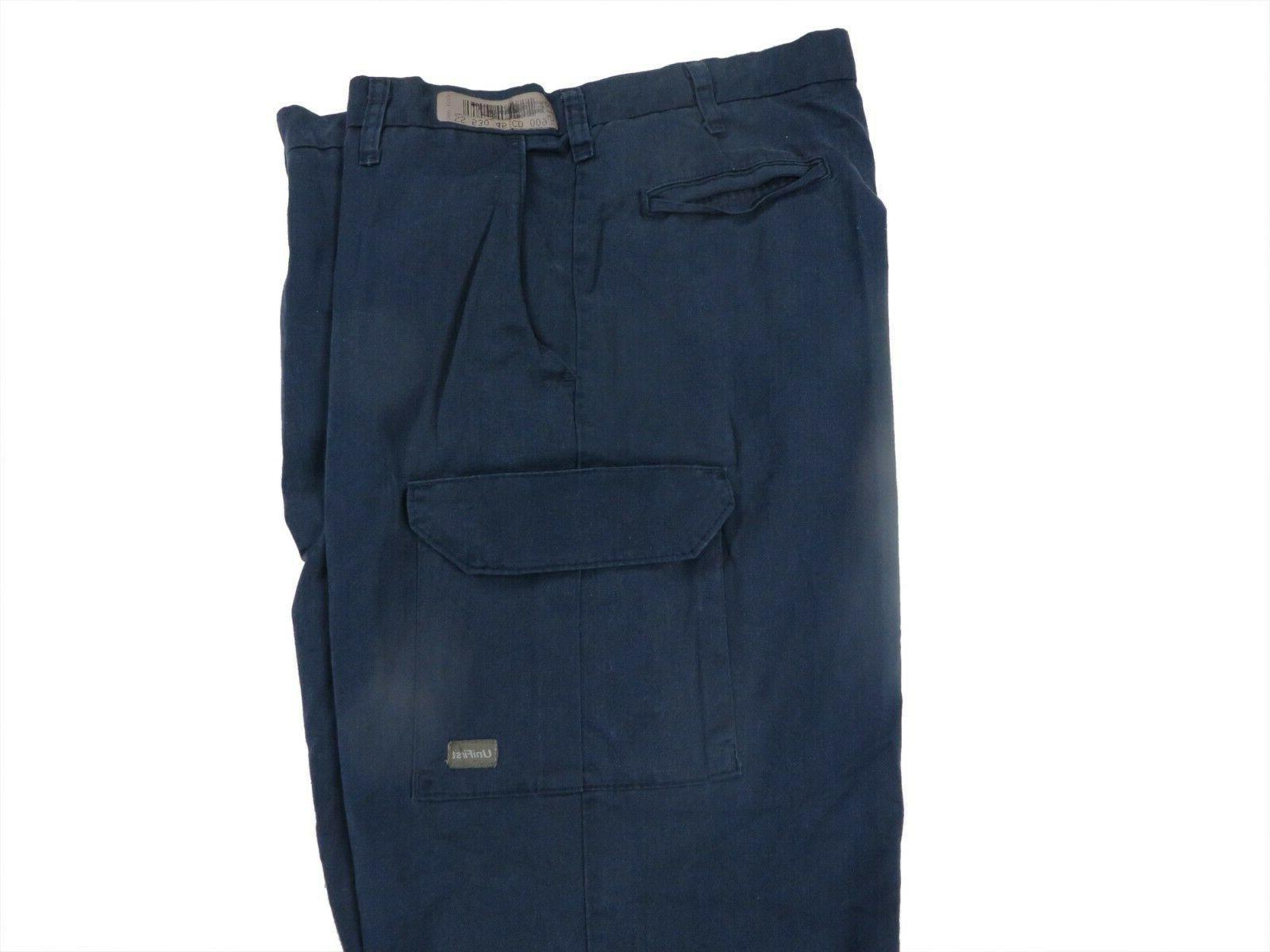 Cargo Work Pants Used Cintas Unifirst Dickies Redkap Black Tan