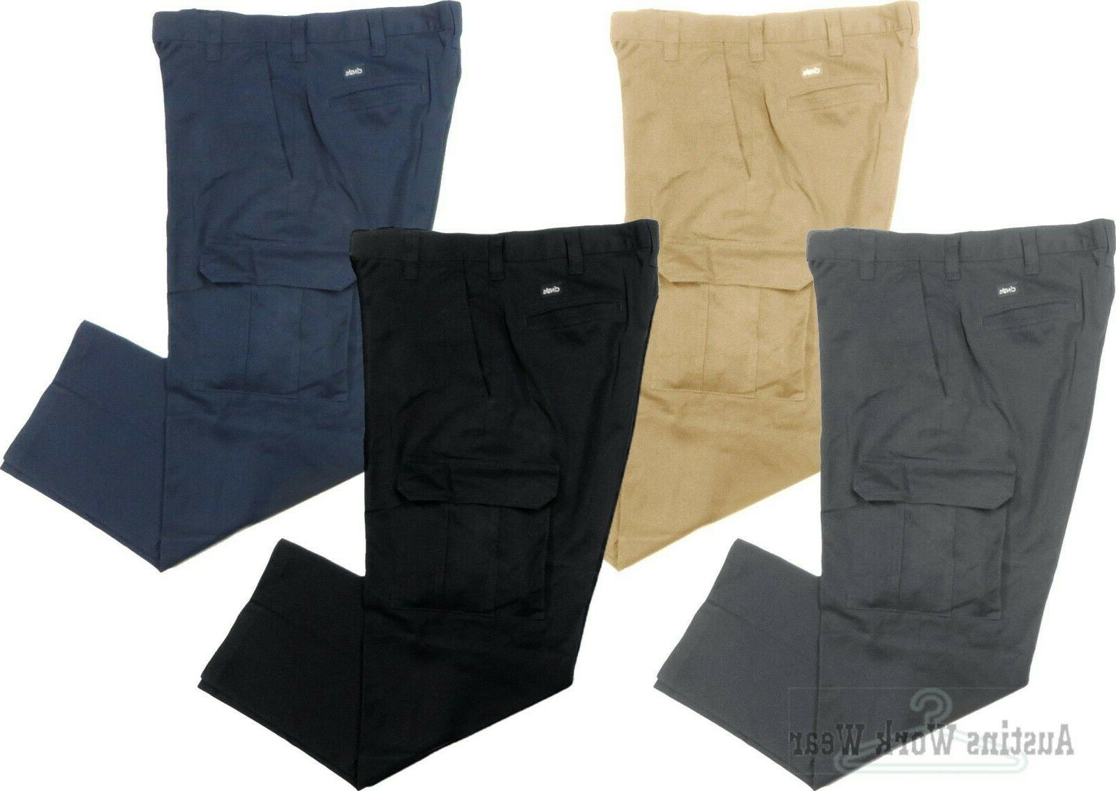 cargo work pants uniform used cintas unifirst