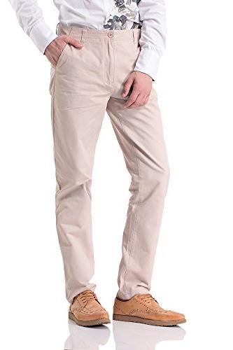 Pau1Hami1ton Men's Leg Khaki Pants PH-15