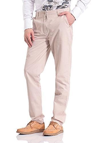 casual straight leg chino khaki