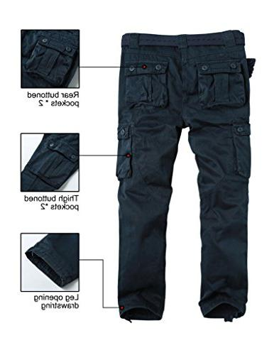 Match Cargo Pants Outdoors Work Wear