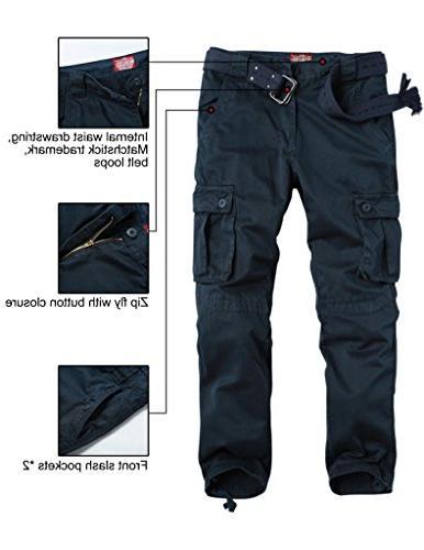 Match Men's Cargo Pants Wear