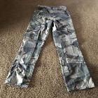 Wrangler Classic Twill Cargo Pants Camouflage Kids 10 Slim