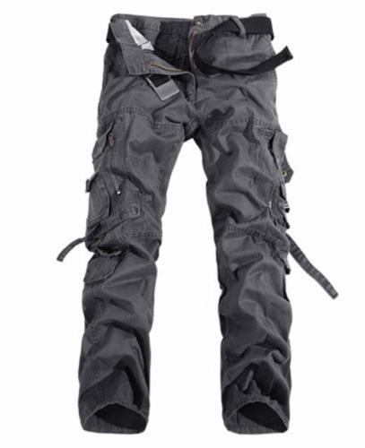 Combat Cotton Cargo Camouflage Work Camo Trousers