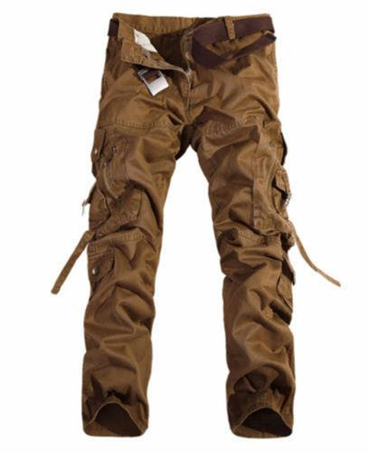 Combat Cotton Cargo Pants Military Camouflage Work