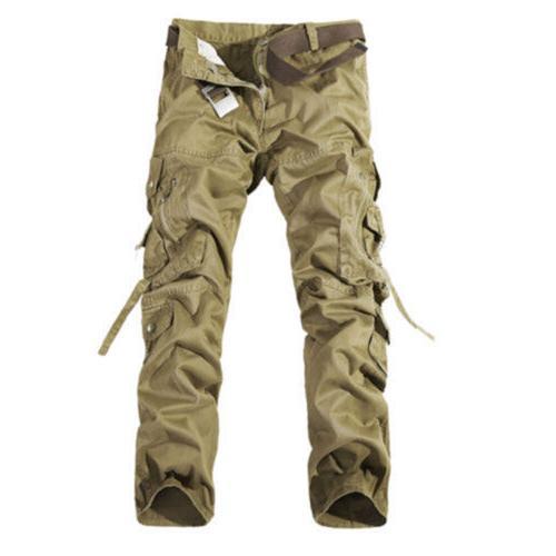 Combat Cargo Camouflage Work Camo Trousers 40