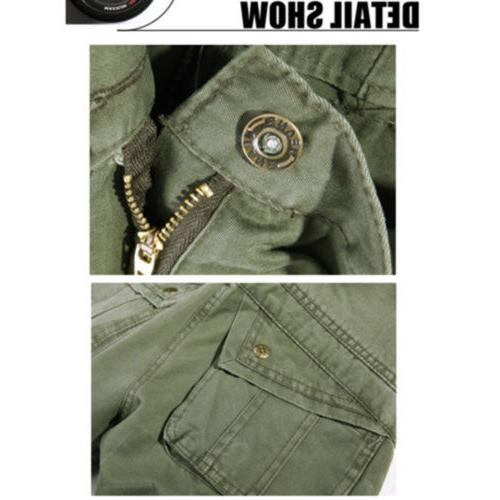 Combat Mens Cargo Pants Military Work 40
