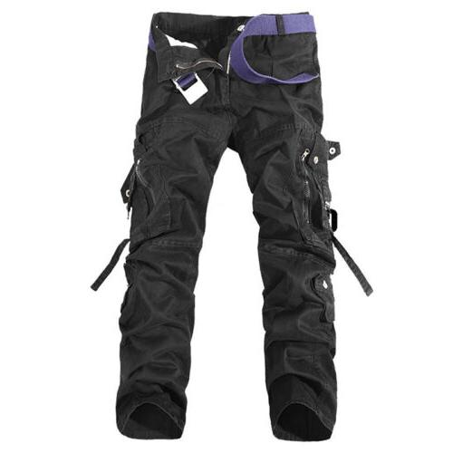 Combat Mens Cotton Army Casual Trousers Workwear