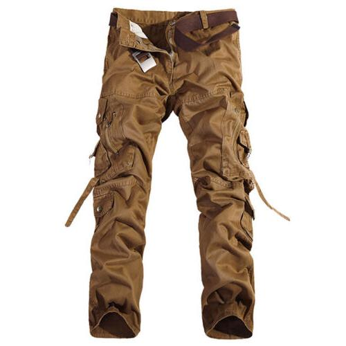 Combat Mens Cotton Army Military Casual Trousers