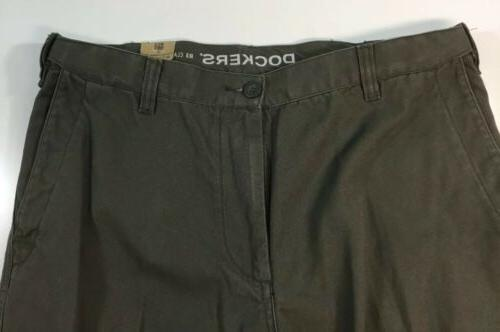 Dockers Classic Flat Front Cargo Pants 34x30 NWT