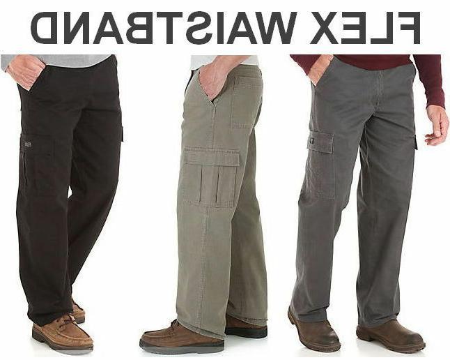 Wrangler Comfort Solution Series Cargo Pant Flex Waistband M