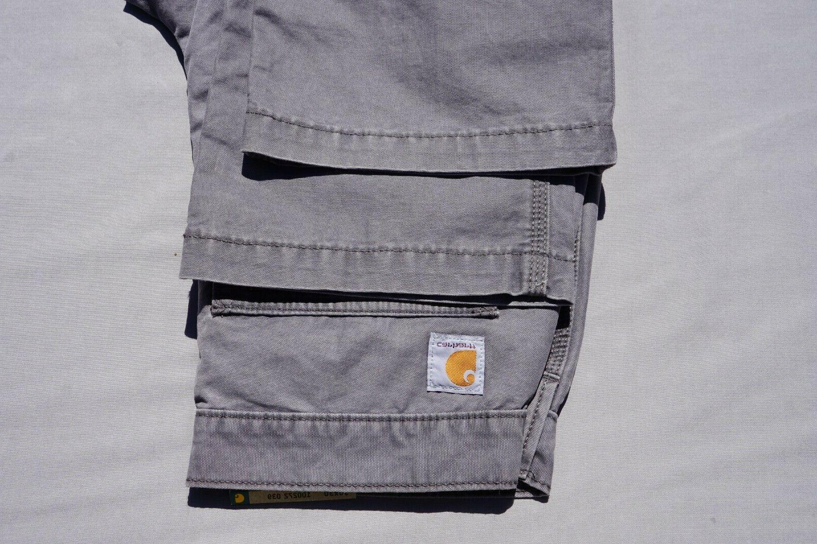 Carhartt Cotton Canvas Cargo Pant'. Gray, Men's 30X30. $39.99!